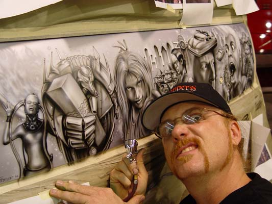Kal koncepts air syndicate 661 836 3084 for Airbrush mural painting
